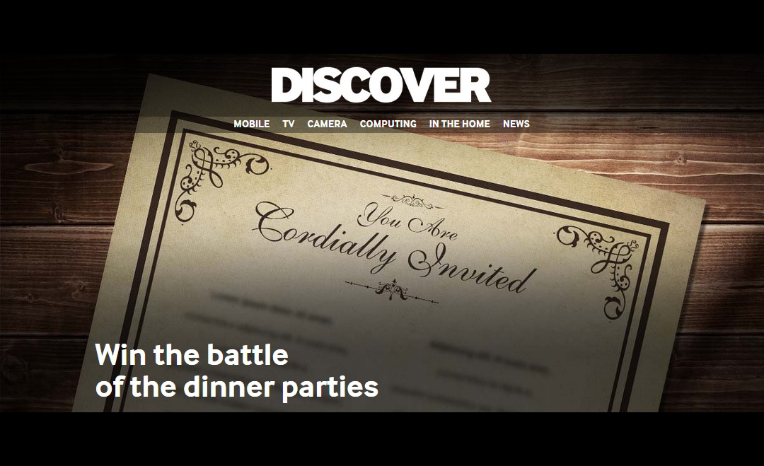 Win the battle of the dinner parties