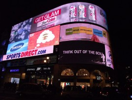 Samsung Piccadilly Screen